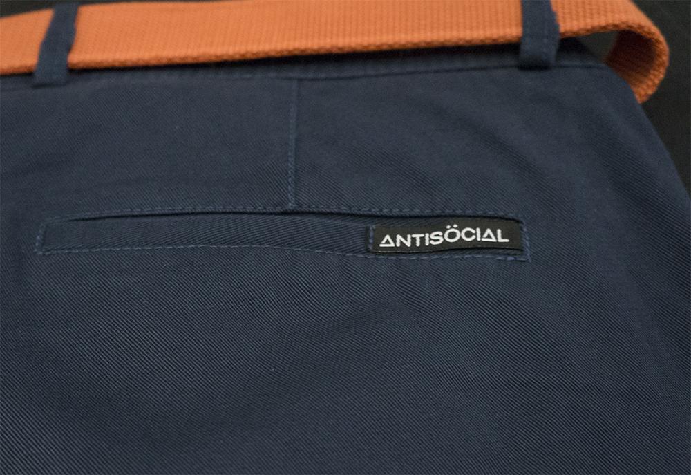 Задний карман шорт