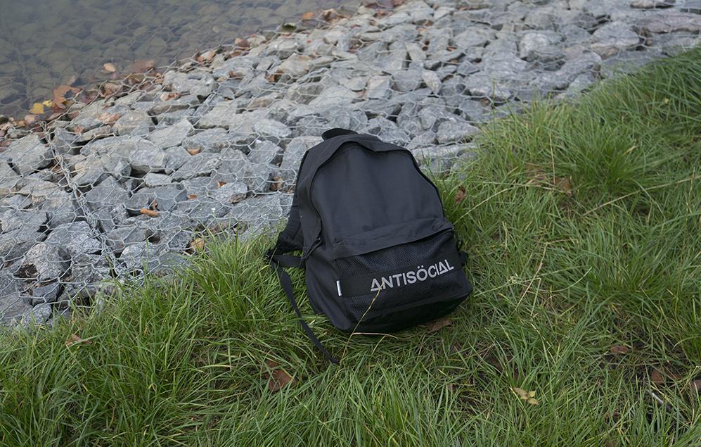 Рюкзак Antisocial – твой спутник всегда и везде