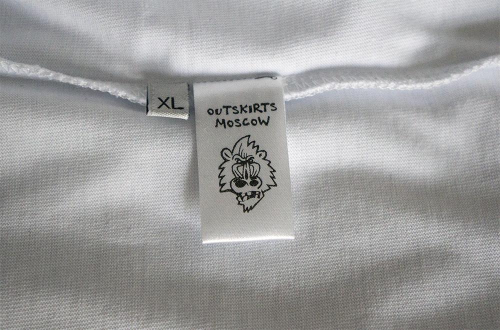Обзор футболок Outskirts Moscow