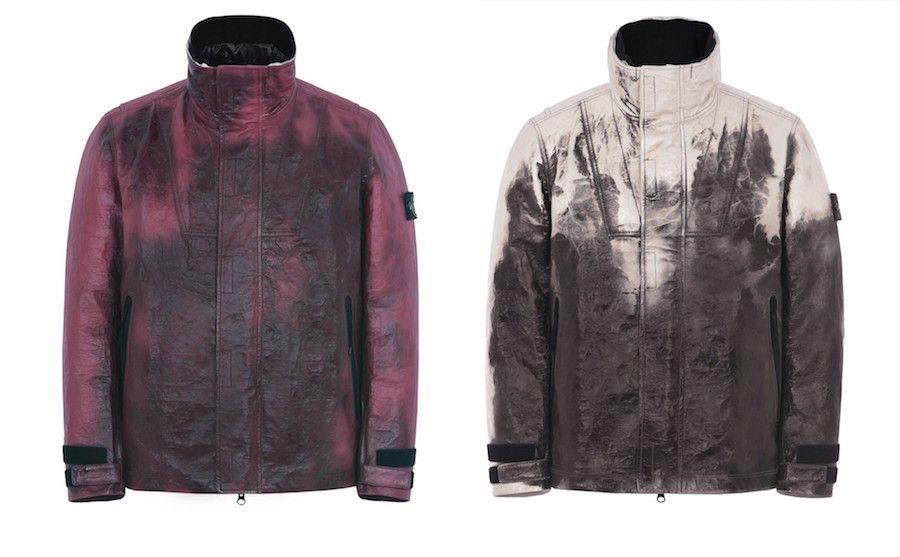 Stone Island создает первую в мире куртку из термочувствительной кожи