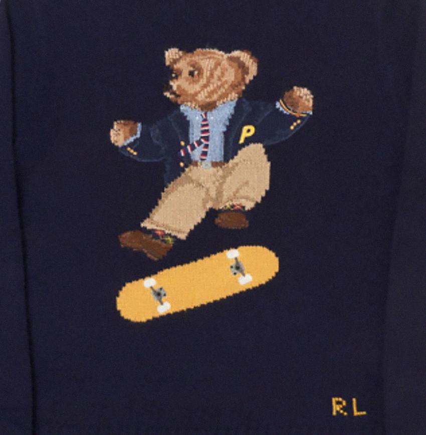 Palace Skateboards медведь