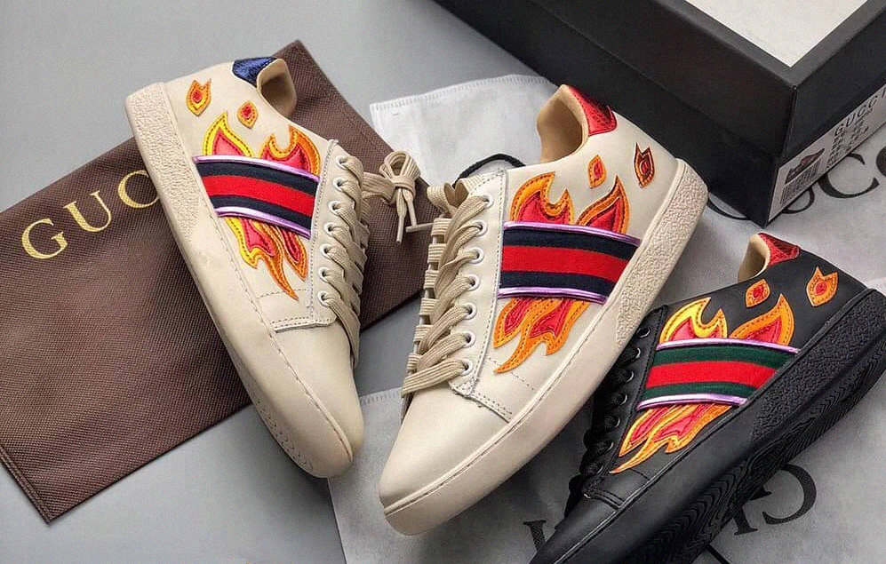 gucci Metallic Flame