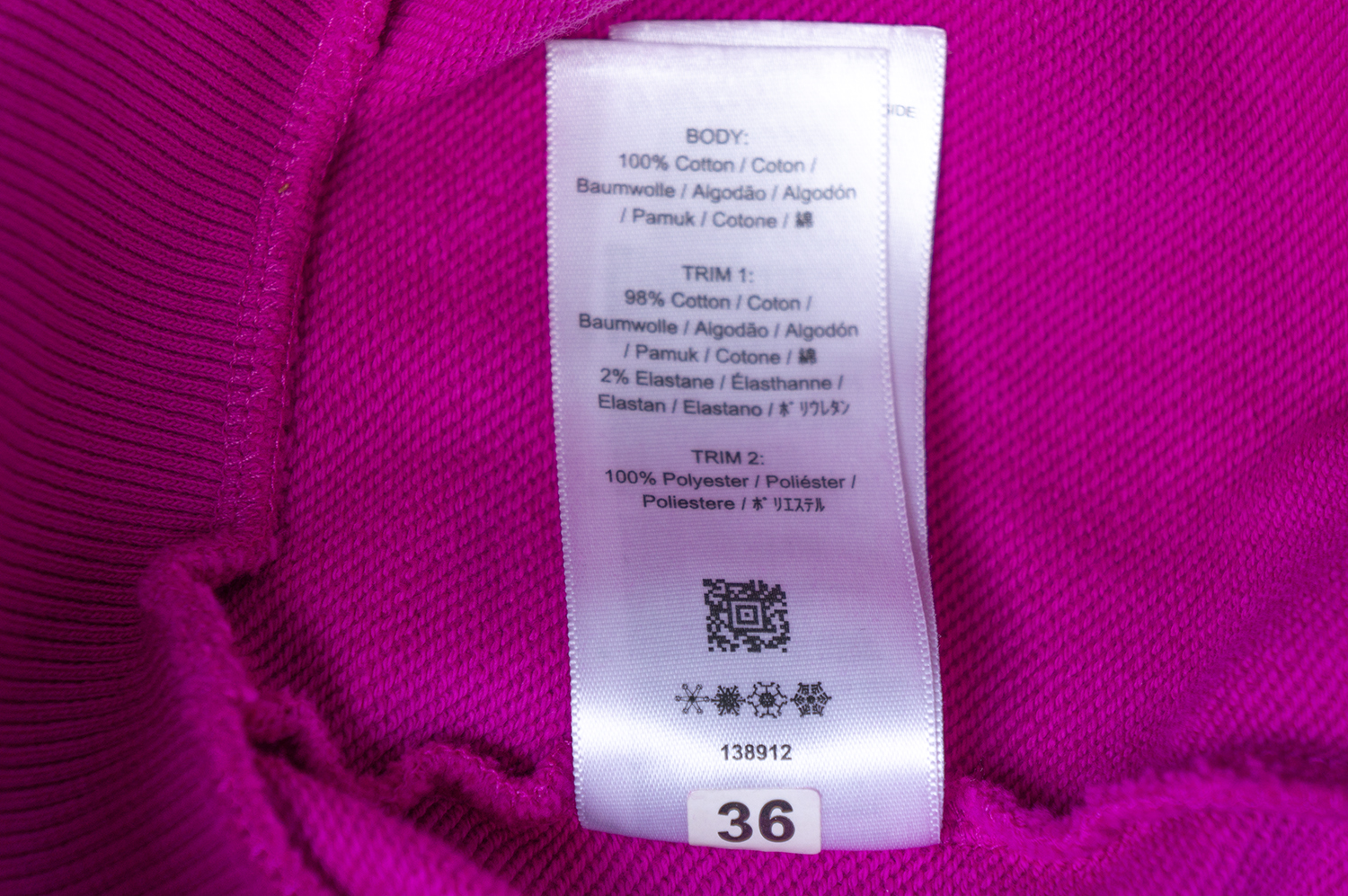 qr code fred perry