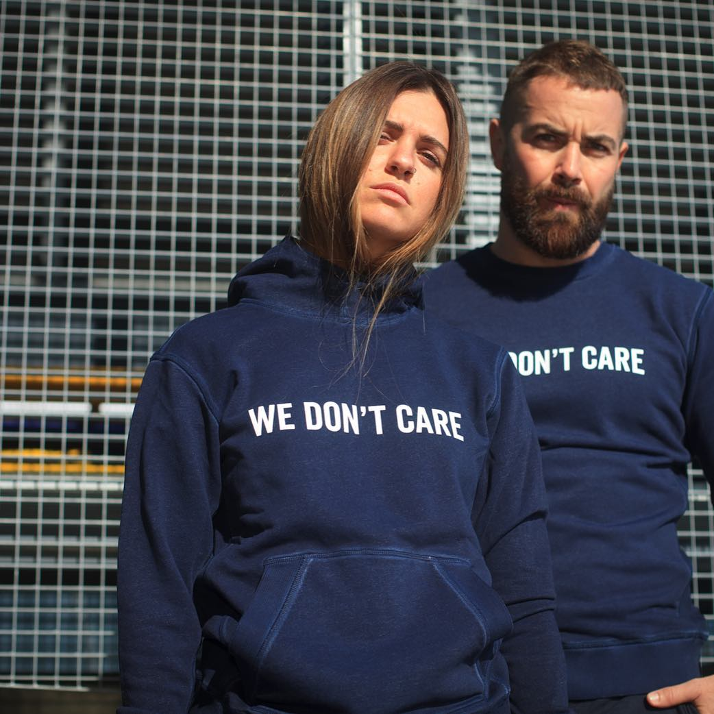 WE DONT CARE brand