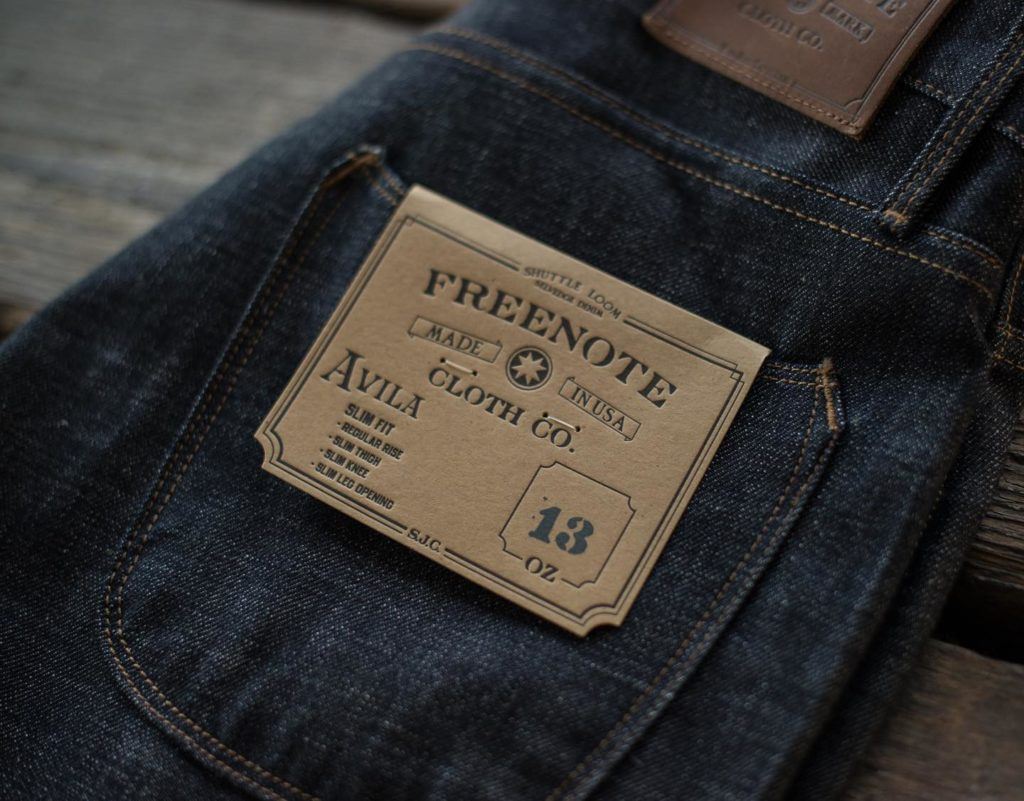 Freenote Cloth Jeans