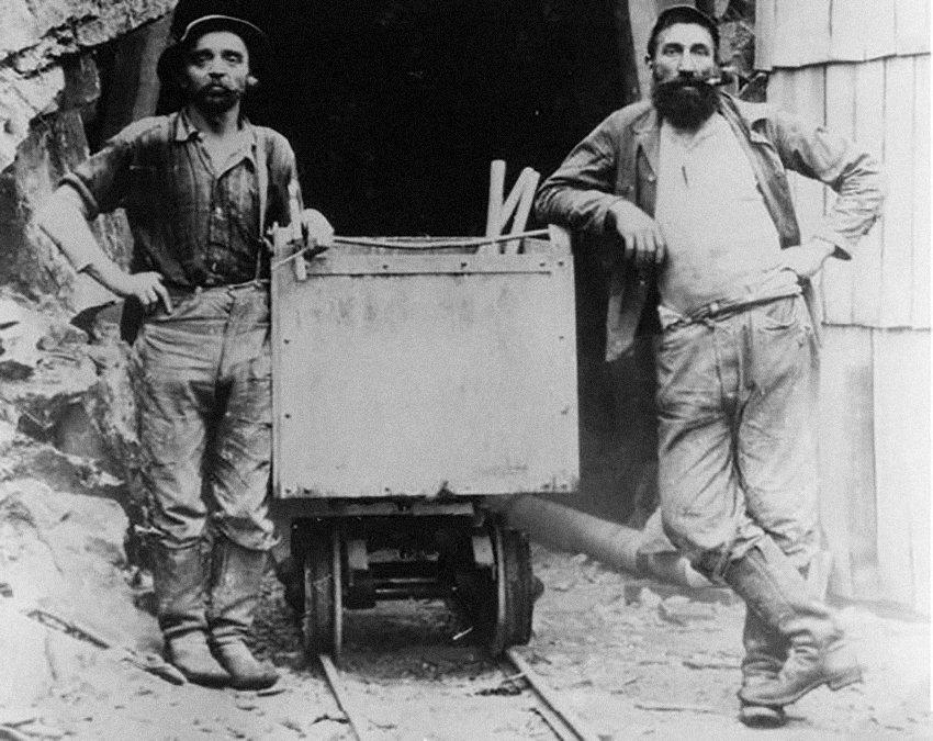 шахтеры в джинсах