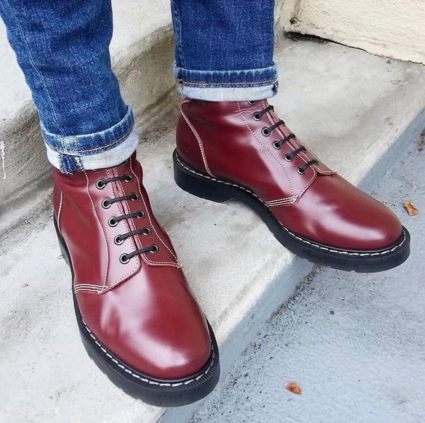 solovair ботинки