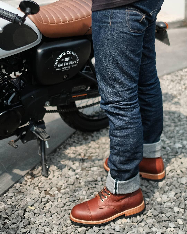 сырой дэним джинса