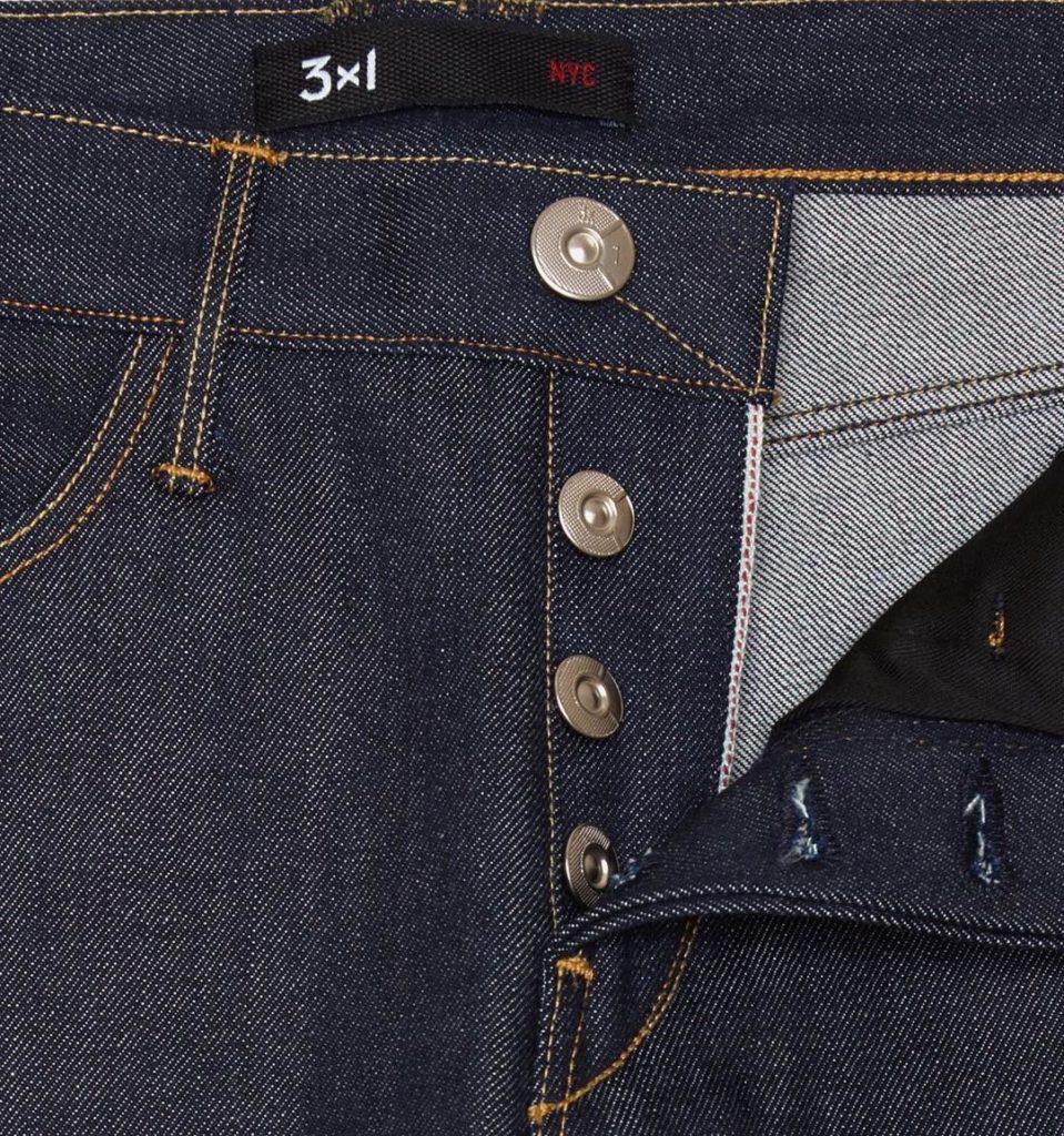сырой denim джинсы