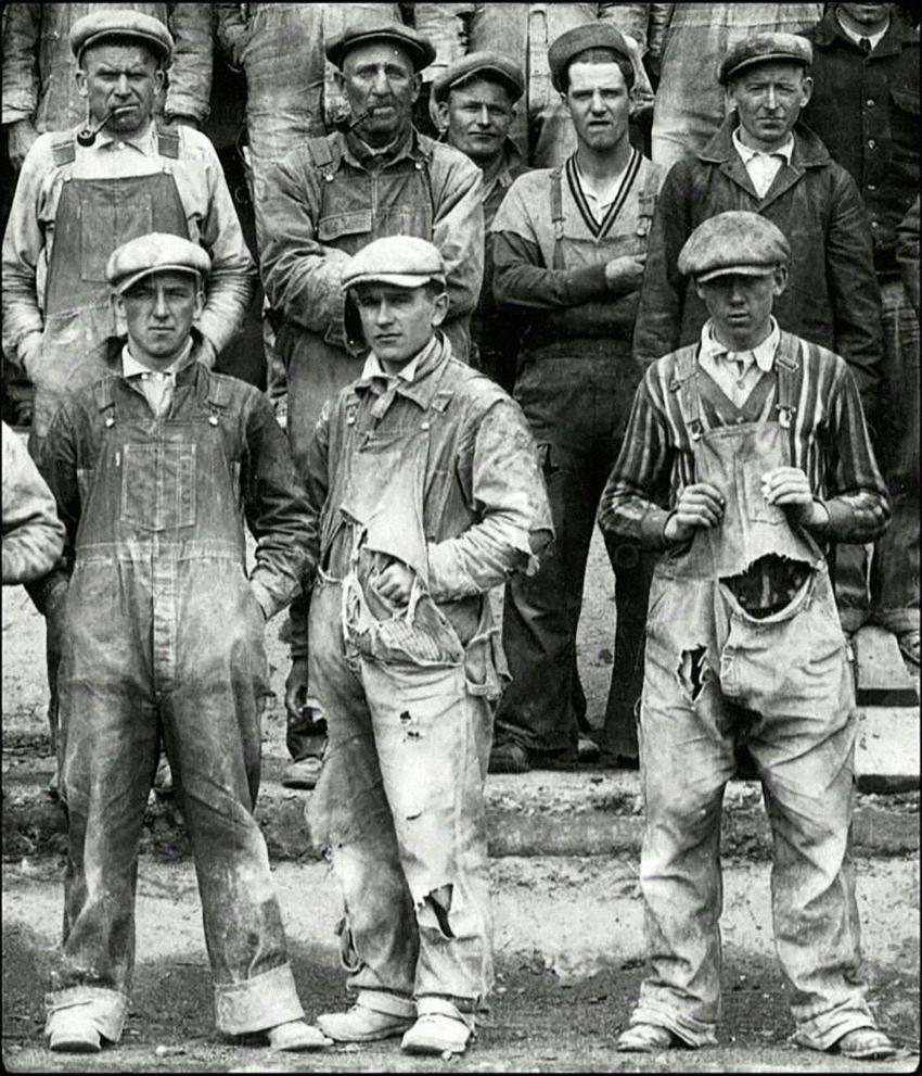 восьмиклинка рабочий класс