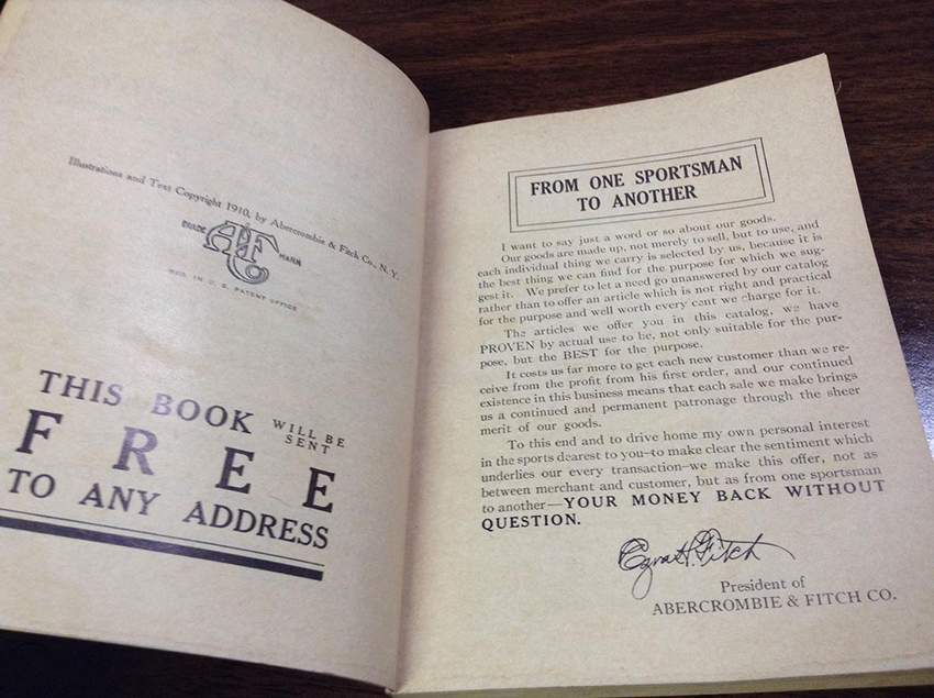 Abercrombie catalog