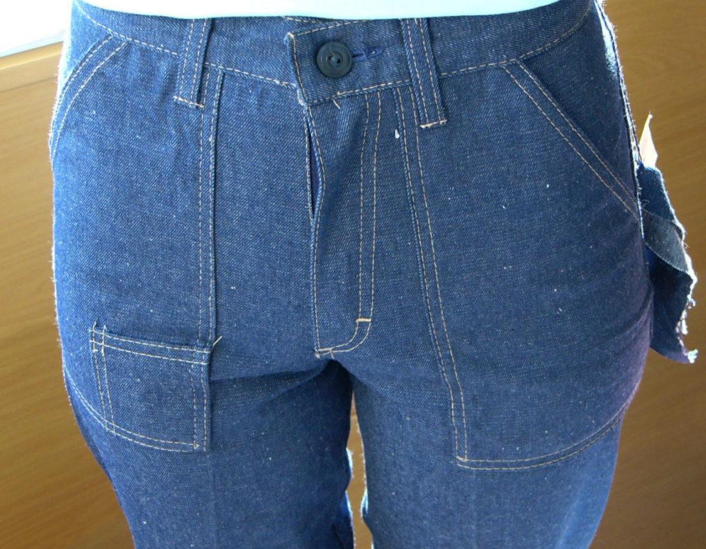 джинсы салют