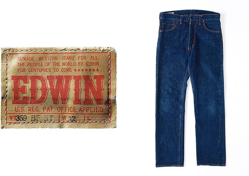 edwin джинсы