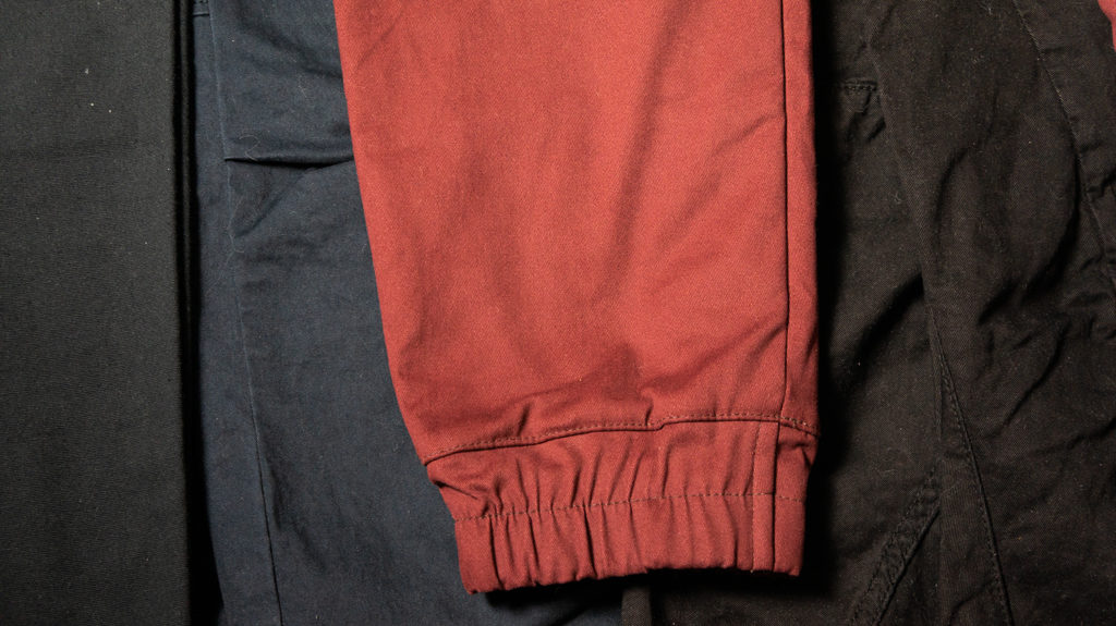карго джогеры резинка
