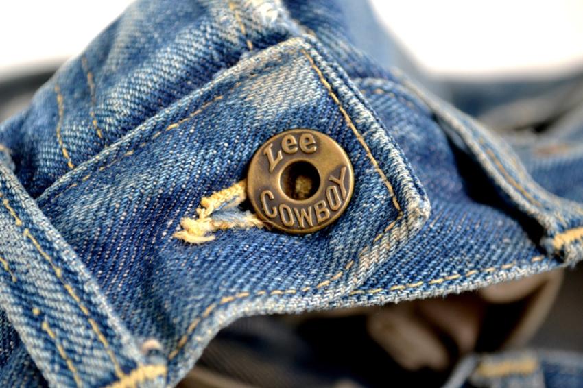 Ковбойские джинсы болт