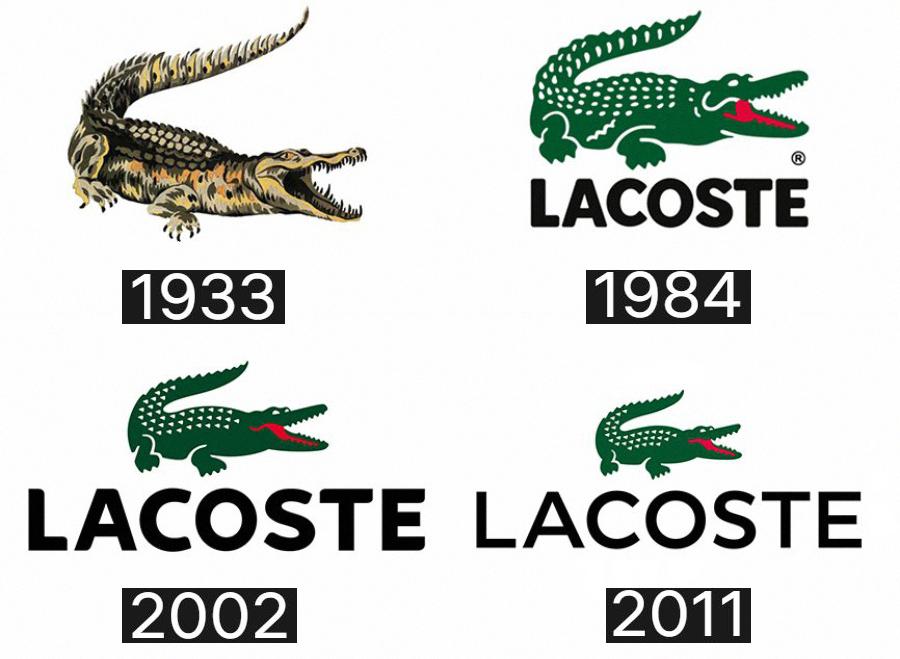 lacoste история логотипов