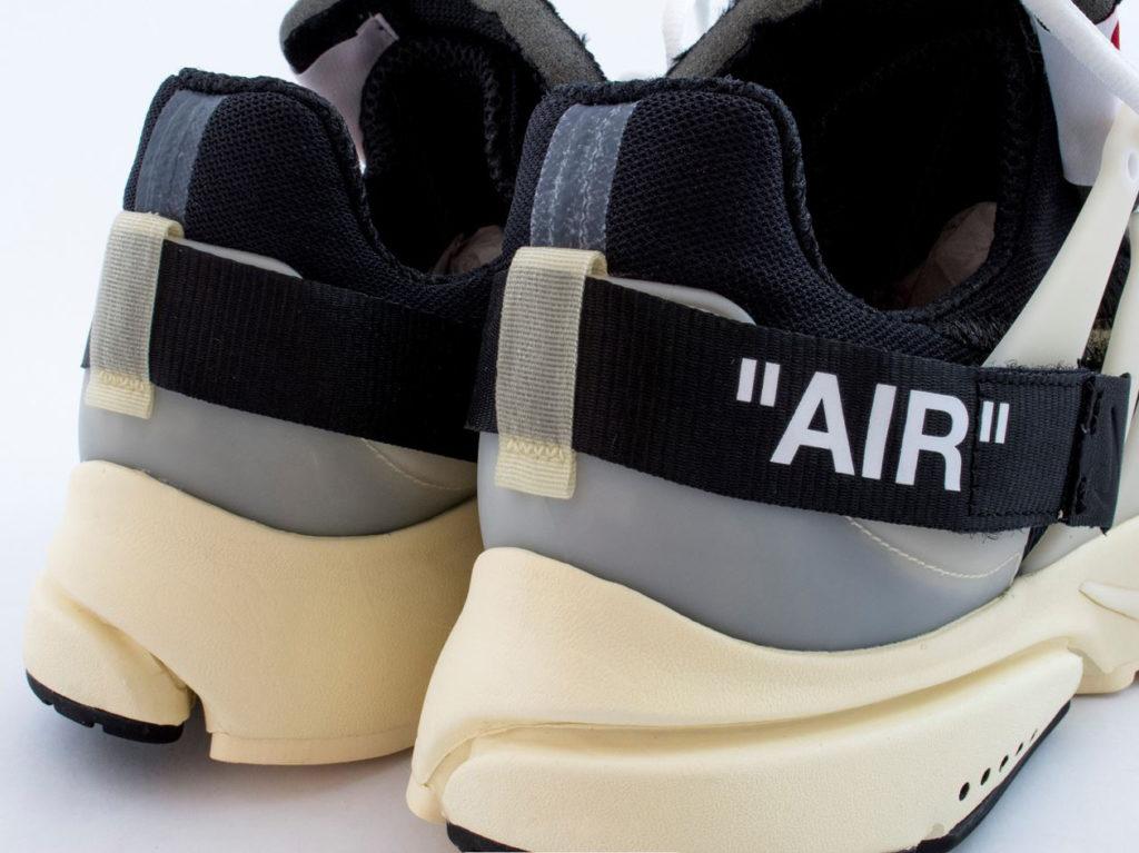 Nike Off-White Air Presto зад