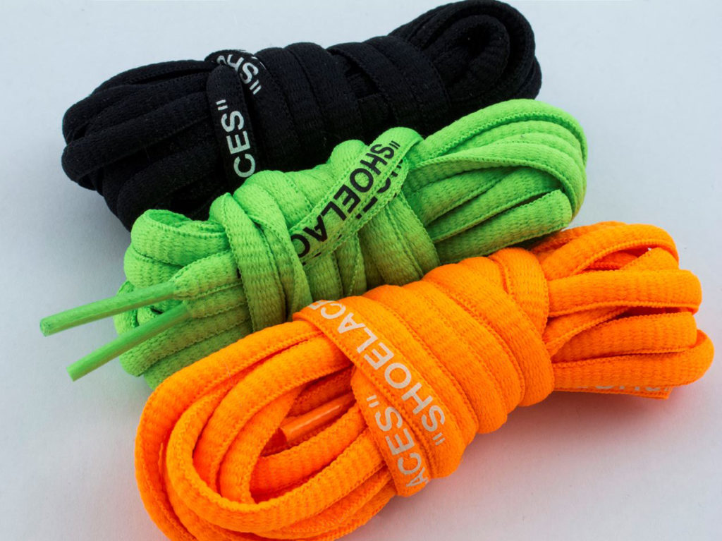 Nike Off-White Air Presto запасные шнурки