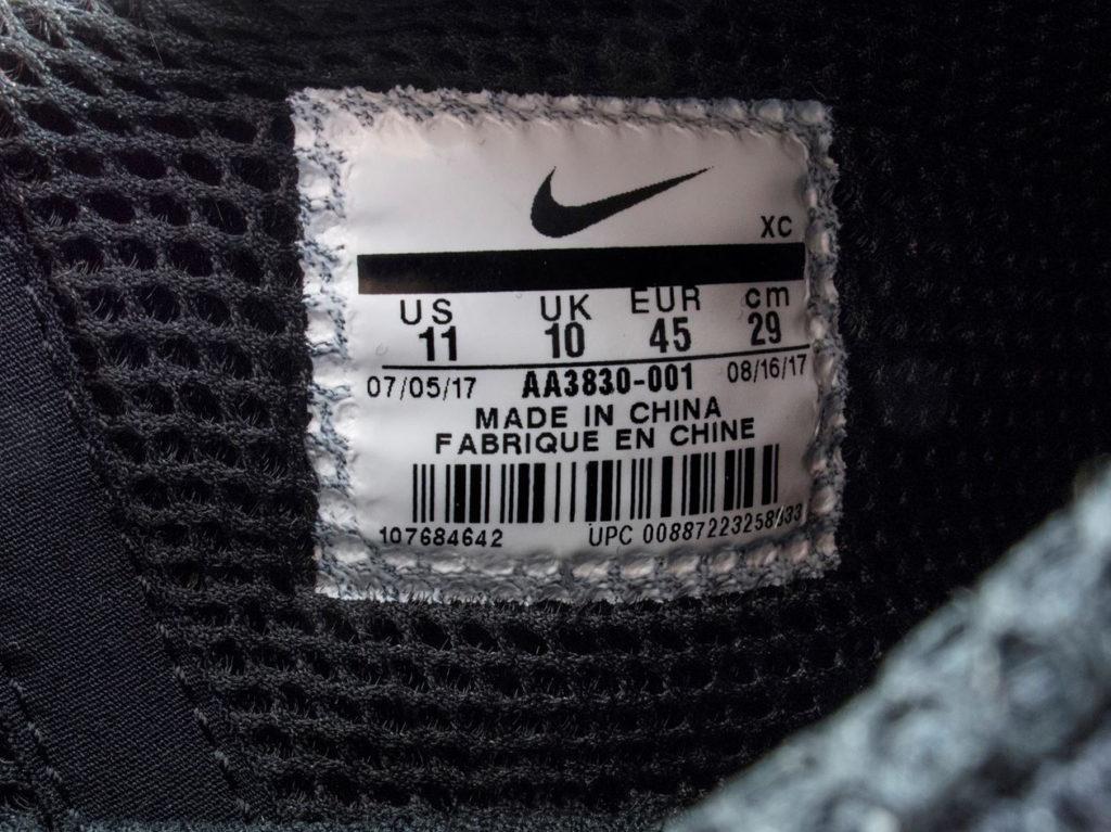 Nike Off-White Air Prestoразмеры