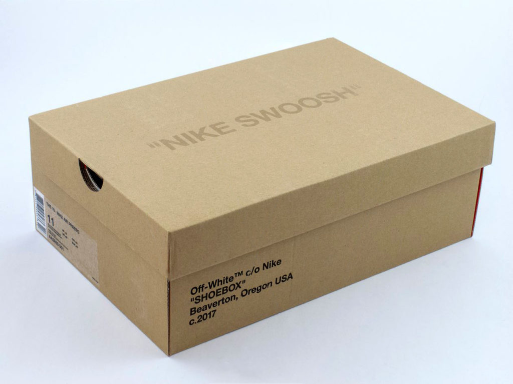 Nike Off-White коробка