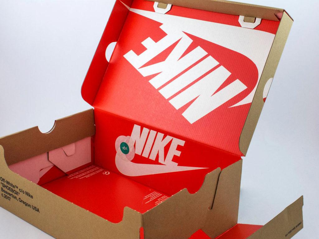 Nike Off-White открытая коробка