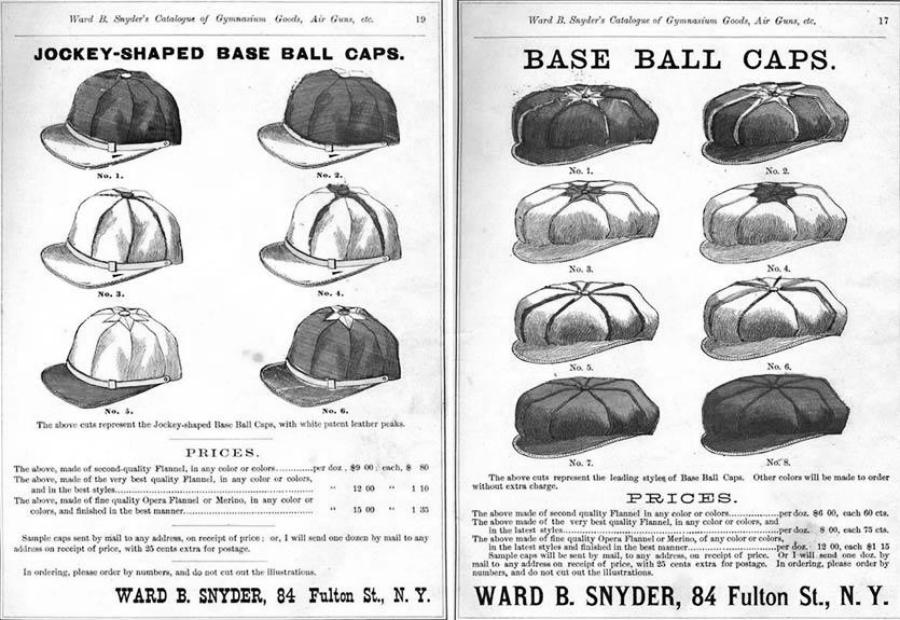 бейсбол головные уборы 2