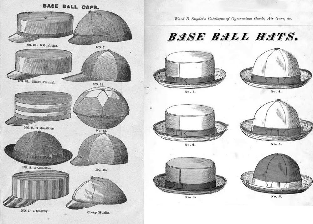 бейсбол головные уборы