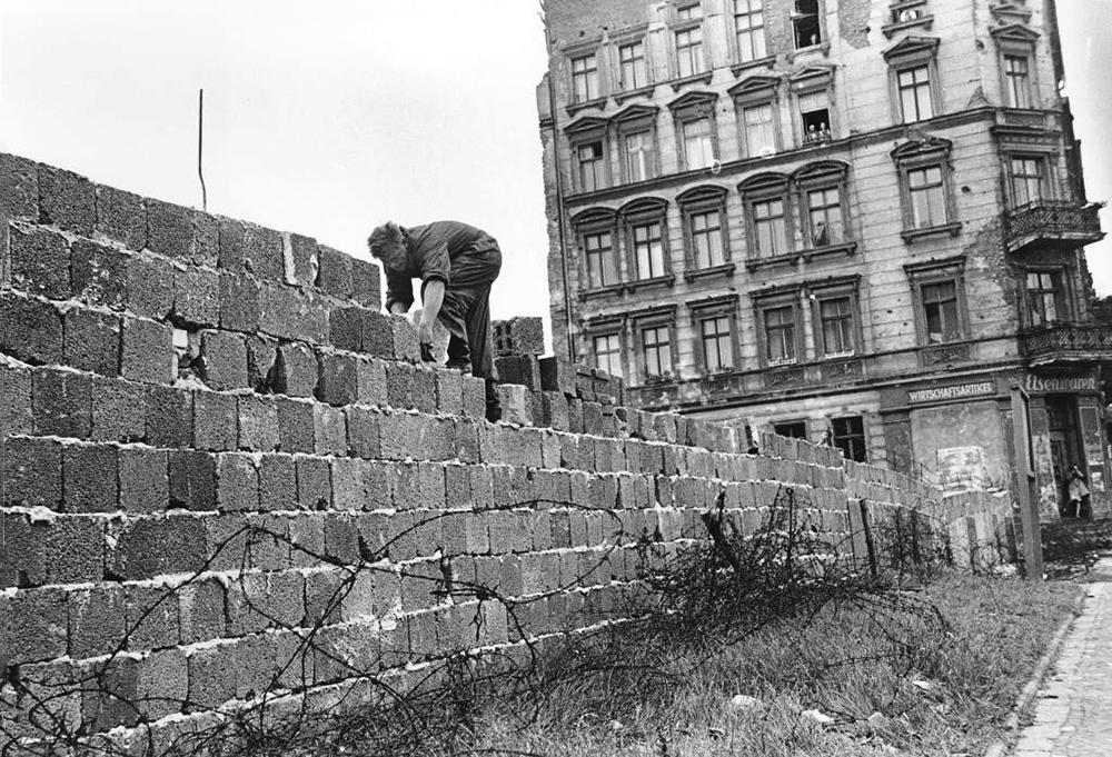 Берлинская стена1961