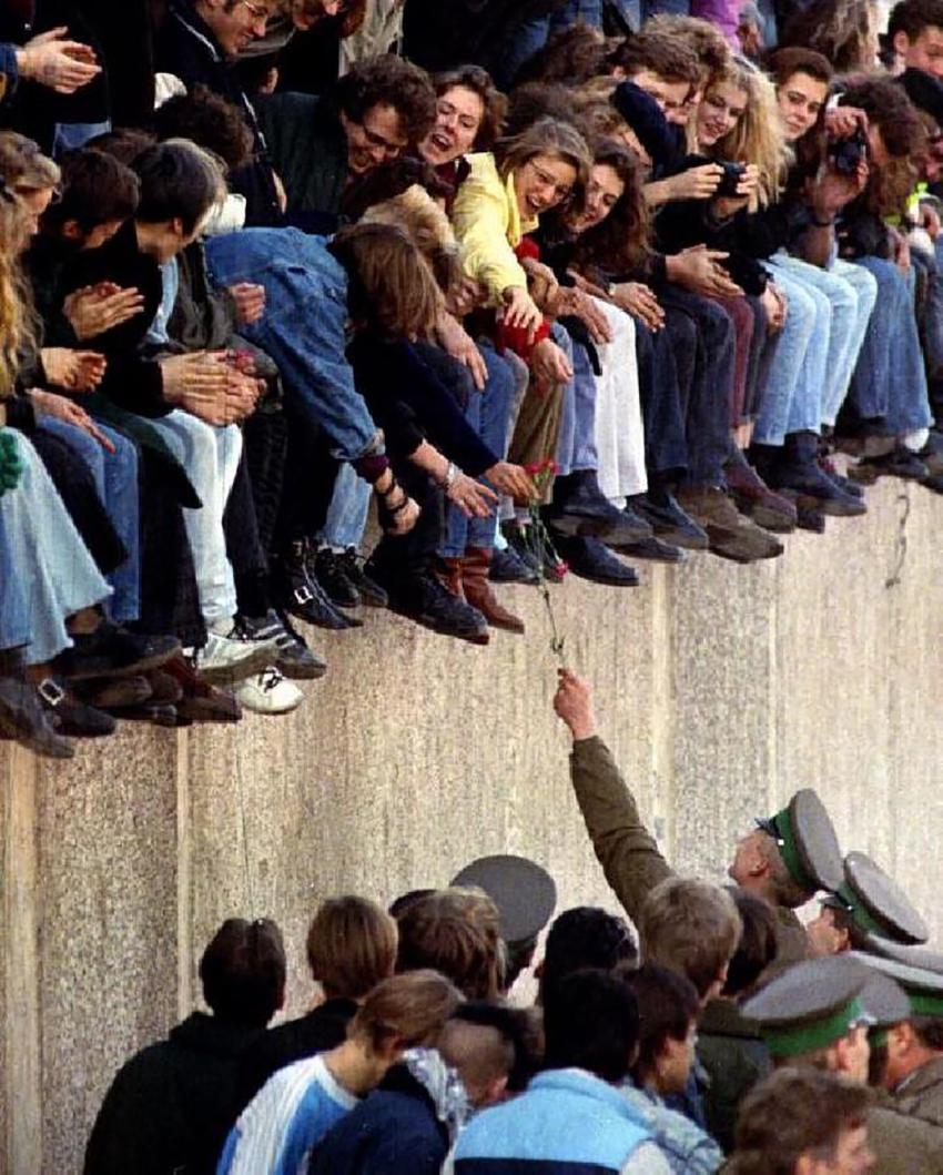 Джинсы Levi's до и после падения Берлинской стены