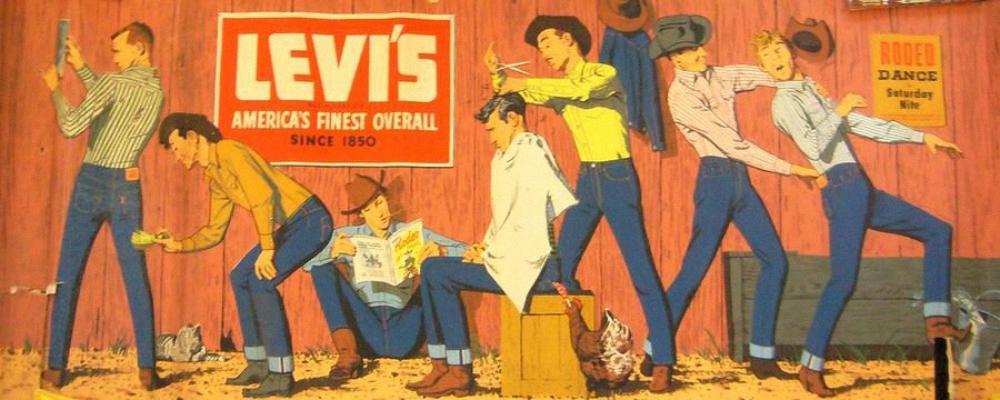 Levi's Velveton: новое слово в трафаретной печати