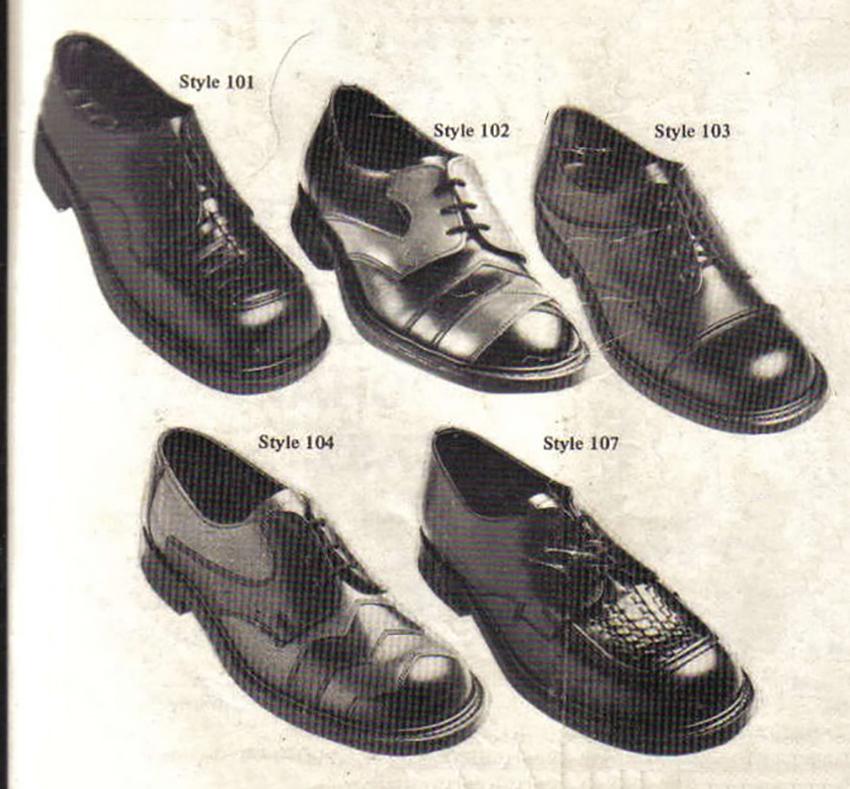 Обувь, которую предпочитали сьюдхеды