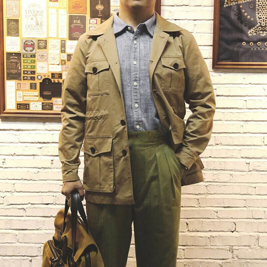 сафари куртка фото