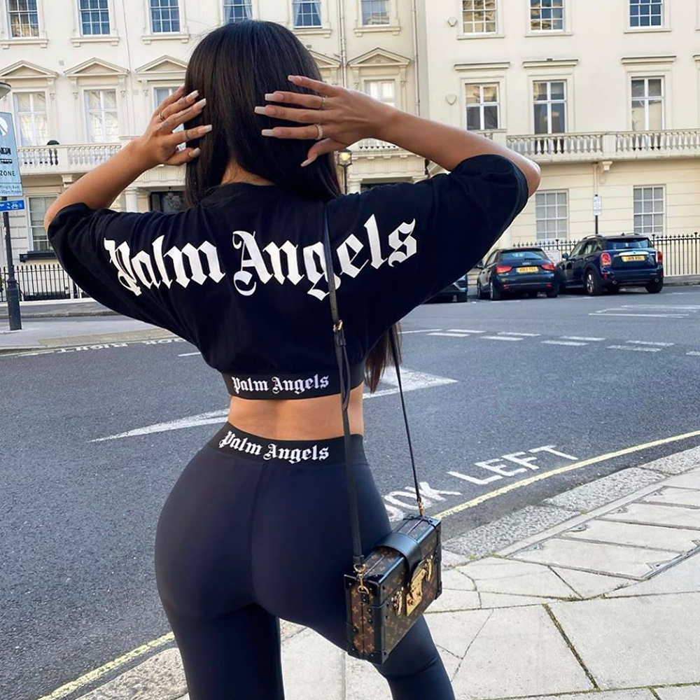 palm angels попка