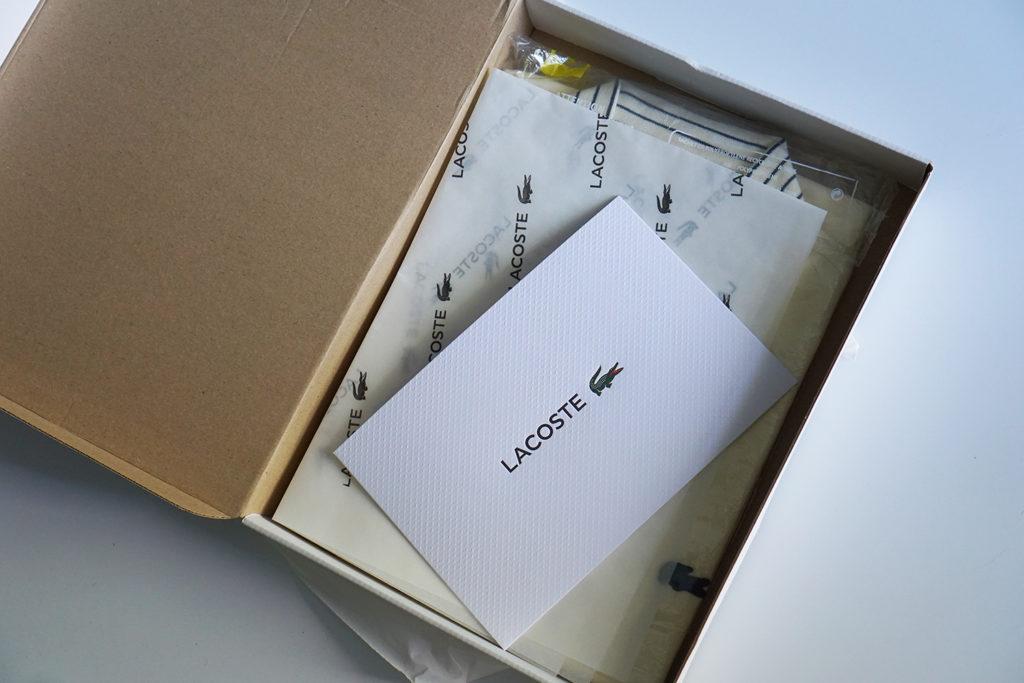 Поло Lacoste коробка открыта 2020Поло Lacoste коробка открыта 2020