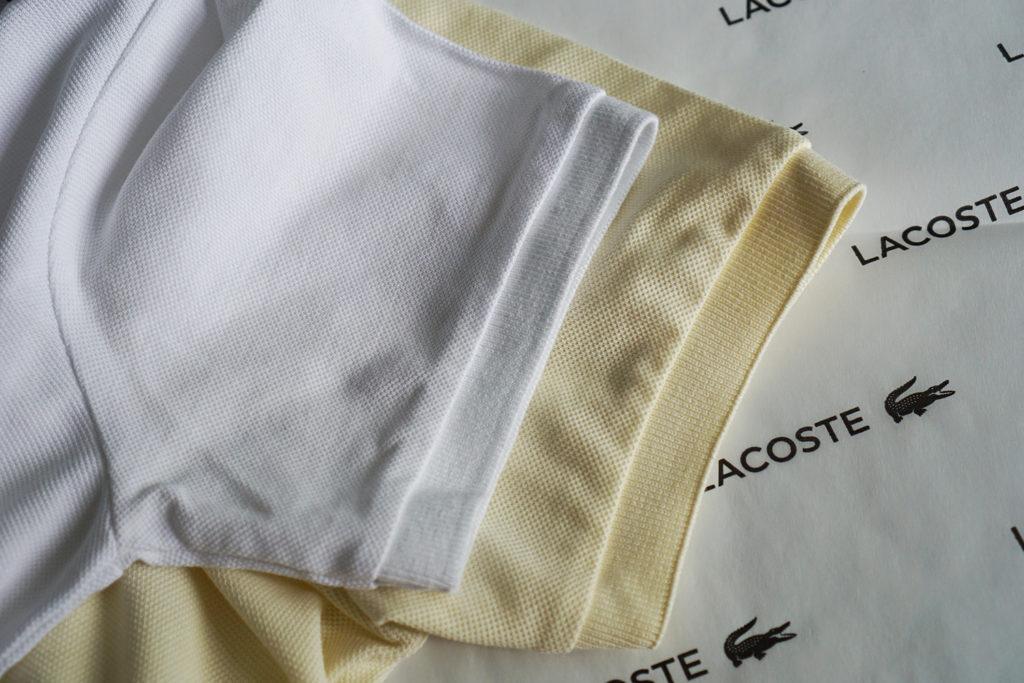 поло Lacoste рукав