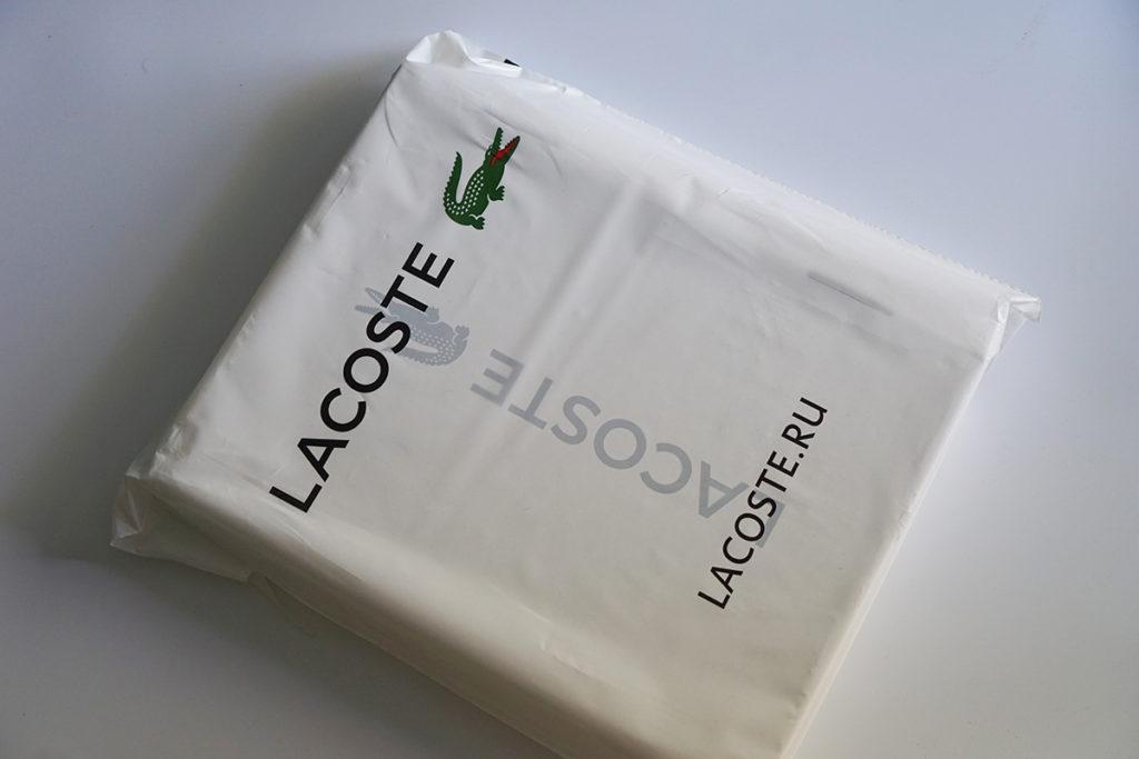 Поло Lacoste упаковка 2020