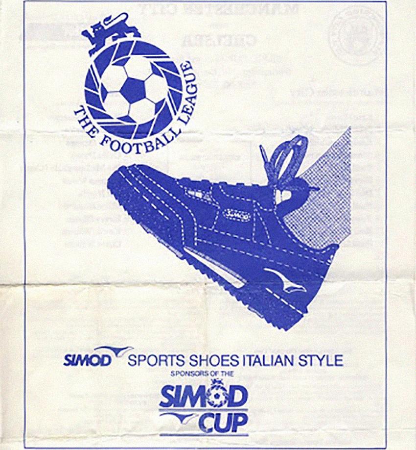 История кроссовок Simod