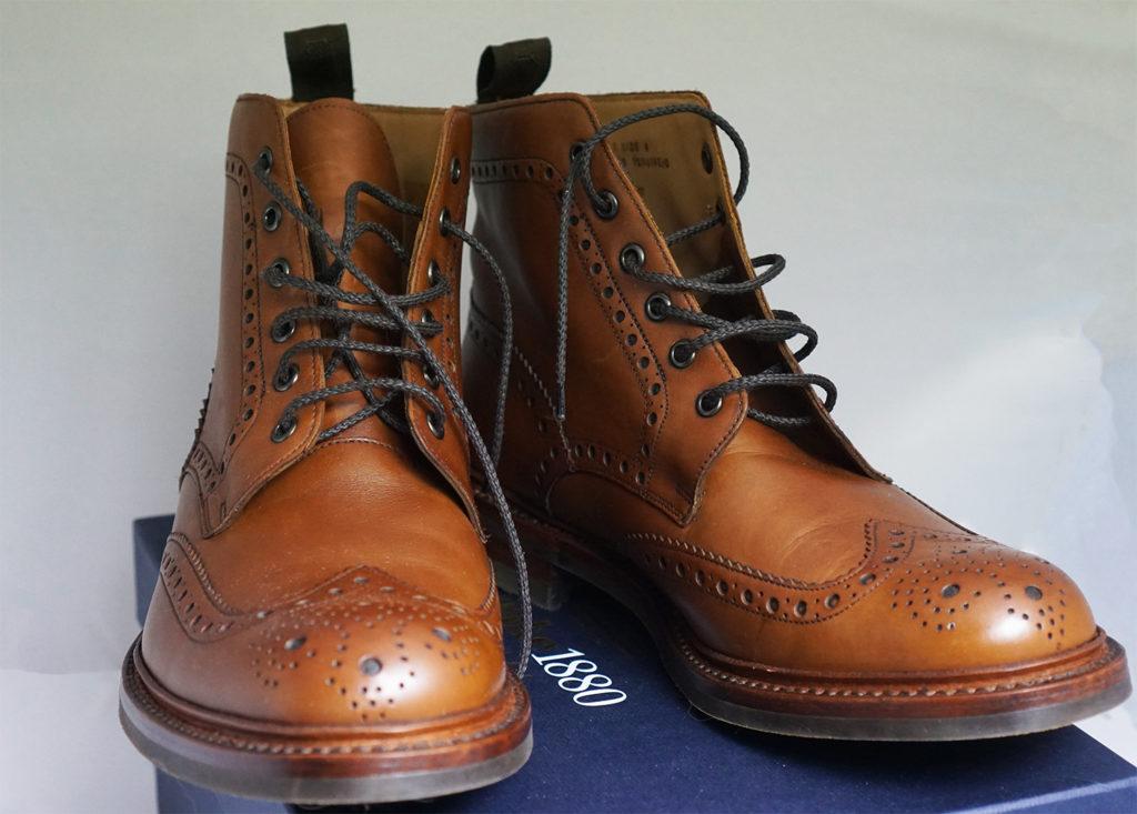 ботинки loake bedale casual