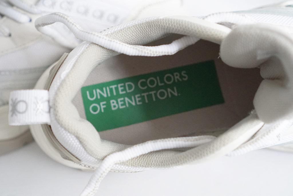 Кроссовки Benetton стелька