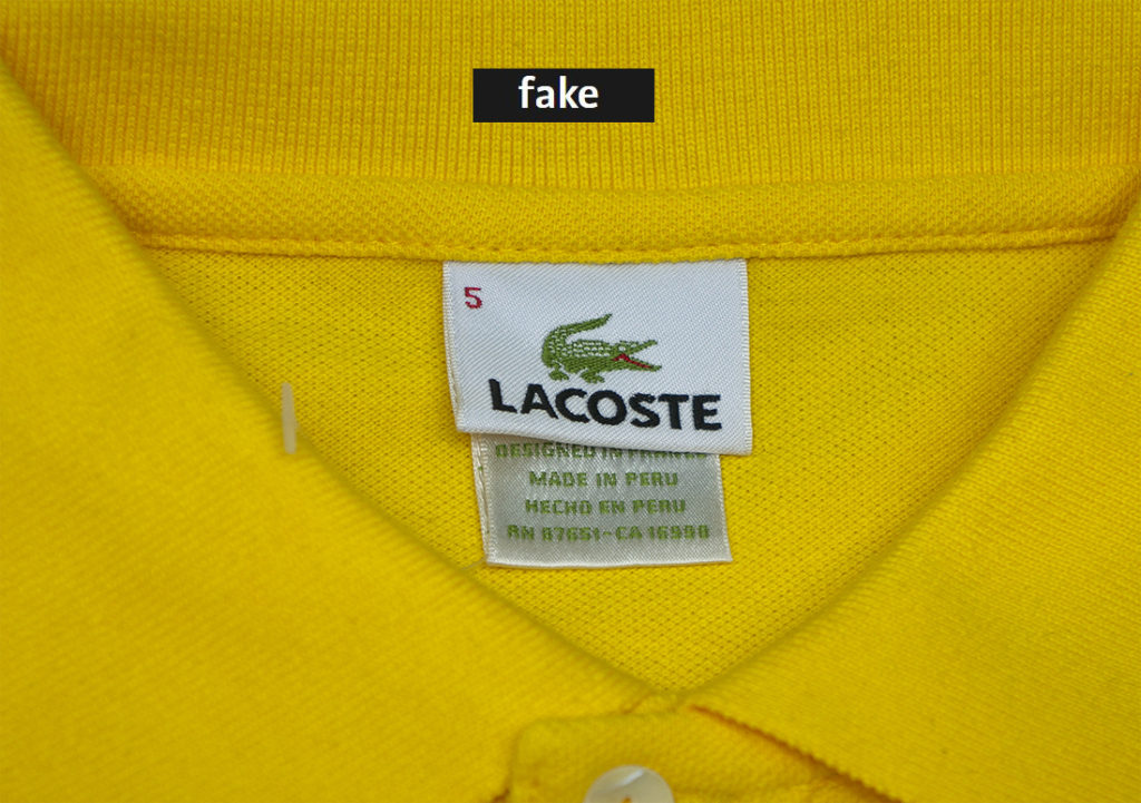LACOSTE POLO: ORIGINAL VS FAKE IN 2019