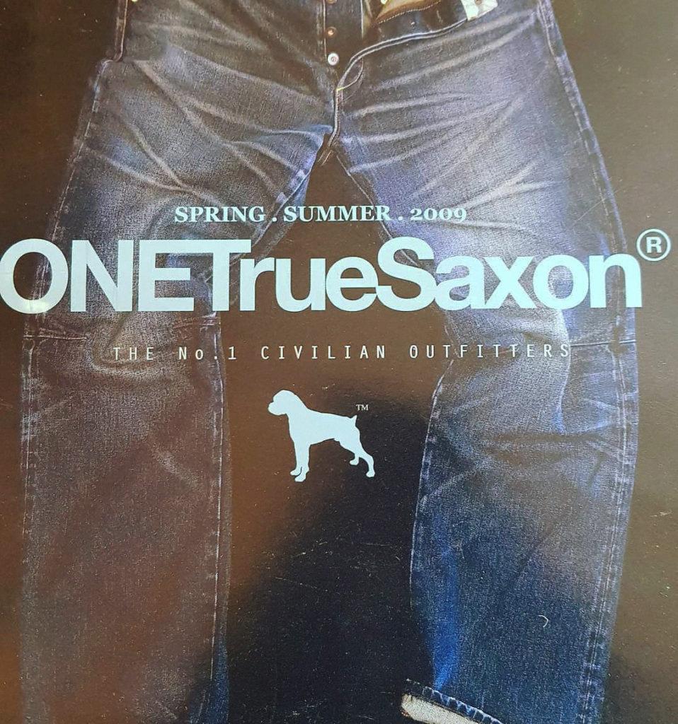 ONE True Saxon: история бренда