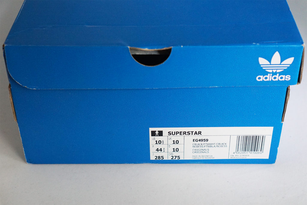 Купили adidas Superstar