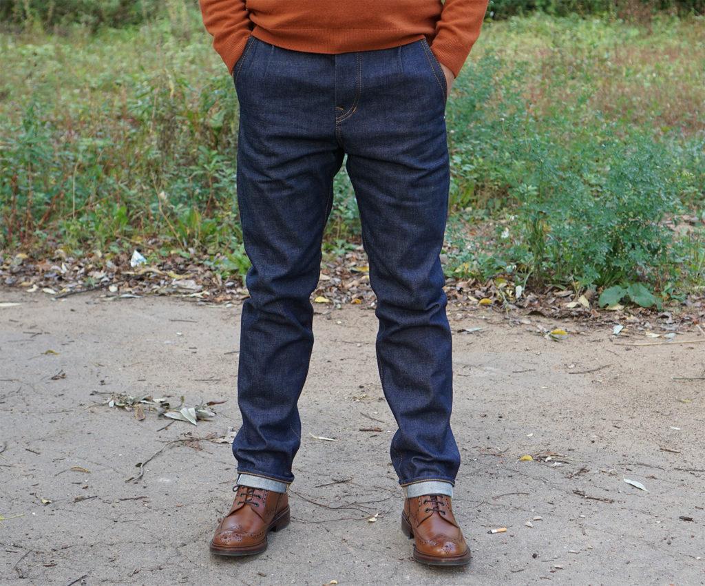 Кастомизированные джинсы Last Hero Denim сделанные в России