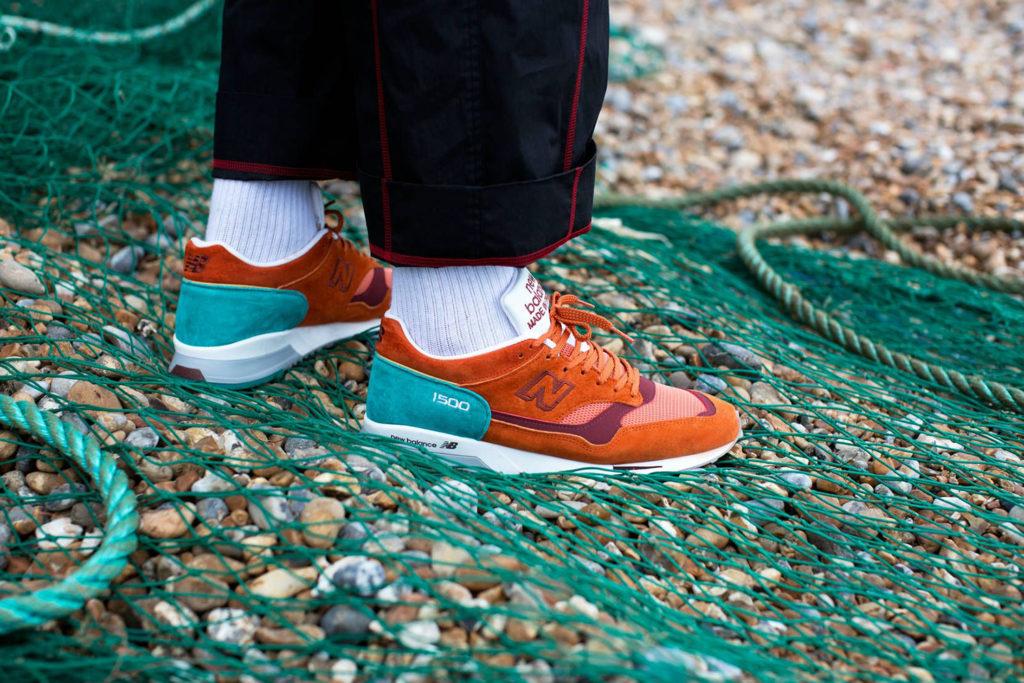 new balance 1500 на ноге