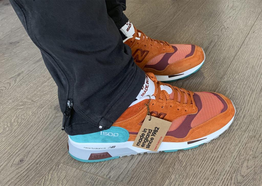 new balance на ноге 1500