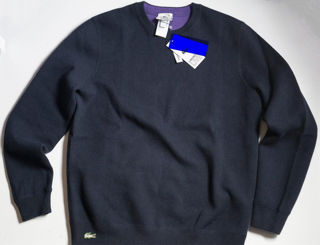 Lacoste свитер синий