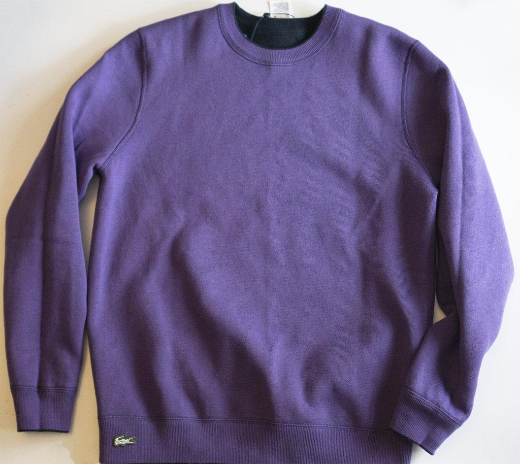 Свитер Lacoste фиолетовый