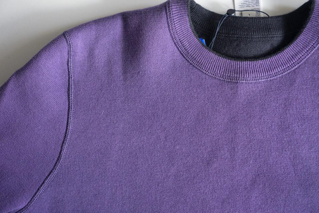 свитер lacoste фиолетовый швы