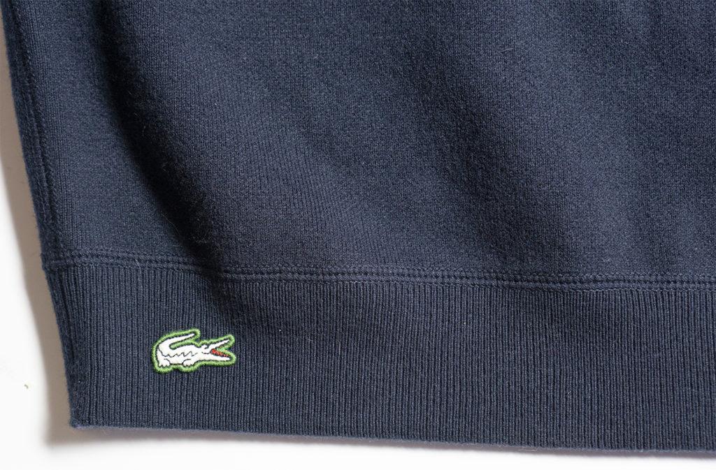 свитер lacoste logo